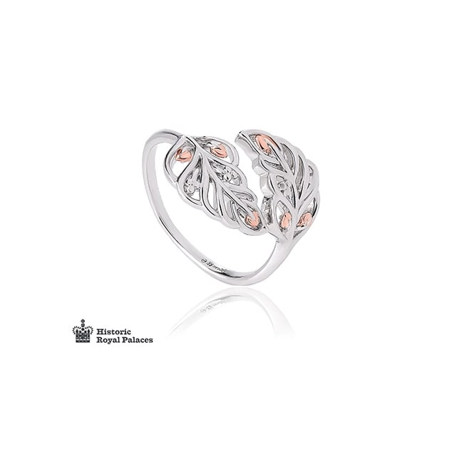 Clogau Gold Debutante Feather Ring