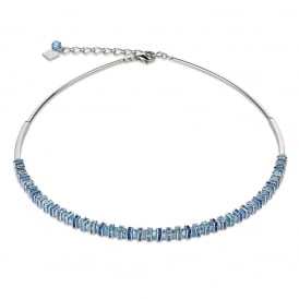 Crystal Blue Necklace