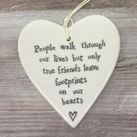 Porce round Heart-People