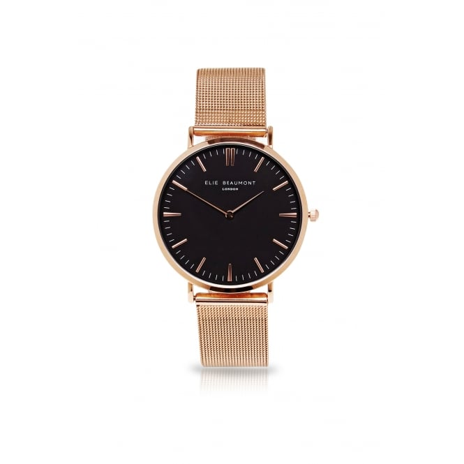 Elie Beaumont Oxford Small Mesh Watch