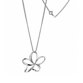Hot Diamonds Sterling Silver Spring Flower Necklace