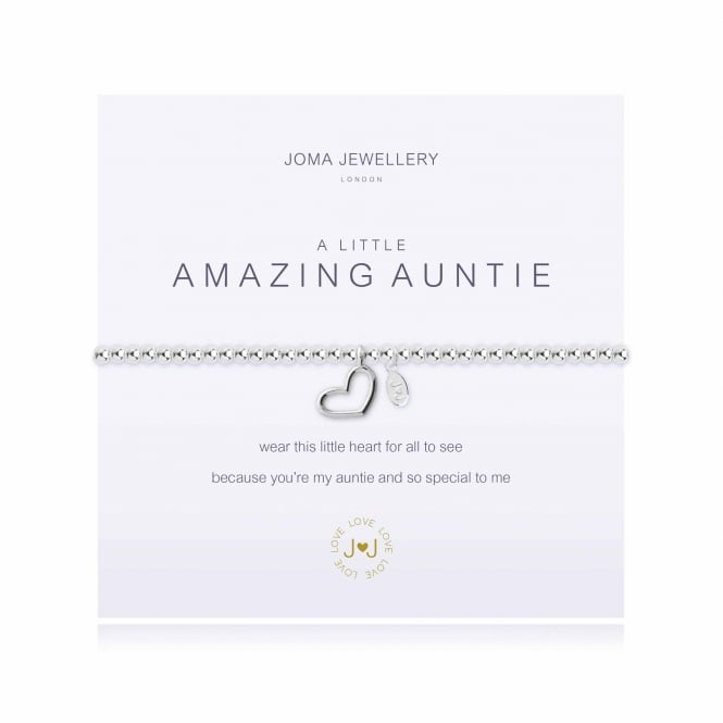 Joma Jewellery A Little Amazing Auntie