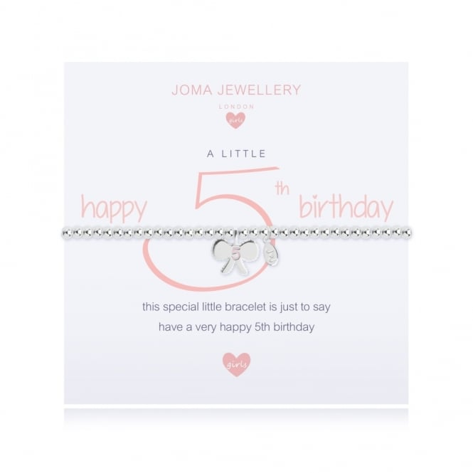 Joma Jewellery A Little Happy 5th Birthday