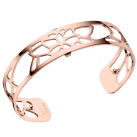 Les Georgettes Nenuphar Small 14mm Rose Gold Cuff Bracelet