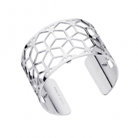 Les Georgettes Resille 40mm Silver Plated Bracelet
