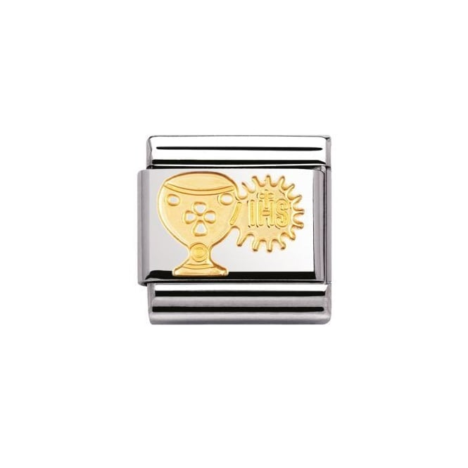 Nomination 18ct Gold Chalice and Host Charm
