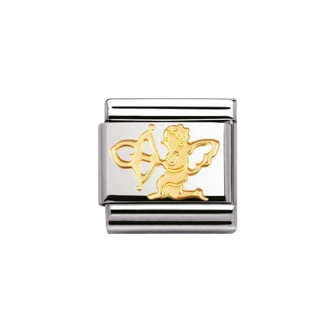 Nomination 18ct Gold Cupid Charm