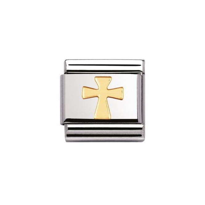 Nomination 18ct Gold Gold Cross Charm