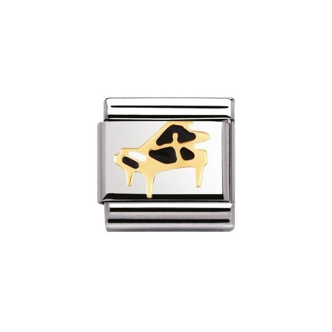 Nomination 18ct Gold Piano Charm