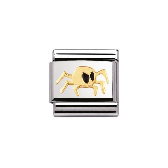 Nomination 18ct Gold Spider Charm