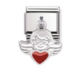 Nomination Silver Dangly Angel Charm
