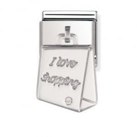 Nomination Silver Dangly Bag Charm
