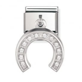 Nomination Silver Dangly Horseshoe Charm
