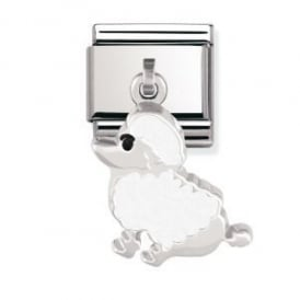 Nomination Silver Dangly Poodle Charm