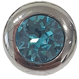 Famosa Tondo 13mm Light Turquoise Ring Top