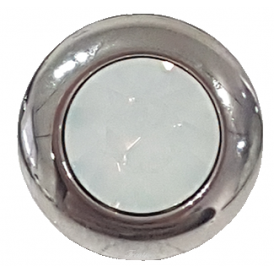 Famosa Tondo 13mm White Opal Ring Top