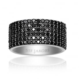 Sif Jakobs Corte Cinique Silver Ring- Size (54)