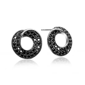 Sif Jakobs Noci Piccolo Black Zirconia Earrings