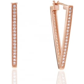 Sif Jakobs Piento Uno Rose Gold Earrings