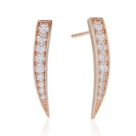 Sif Jakobs Pila Rose Gold Earrings