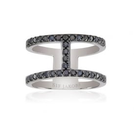 Sif Jakobs Siena Silver Ring- Size (56)