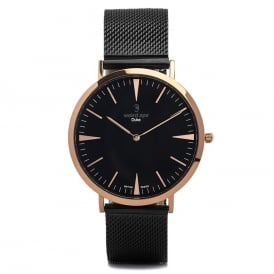Duke RG Black Mesh Watch