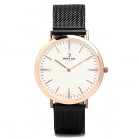 Duke White Rose Gold Watch