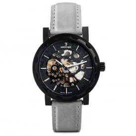 Kolt Grey Suede Watch