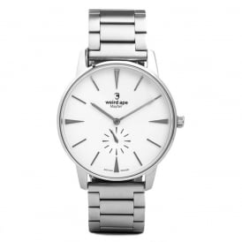 Mayfair White Silver Watch
